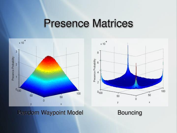 Presence Matrices