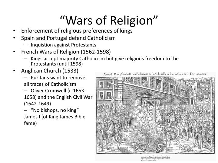 """Wars of Religion"""