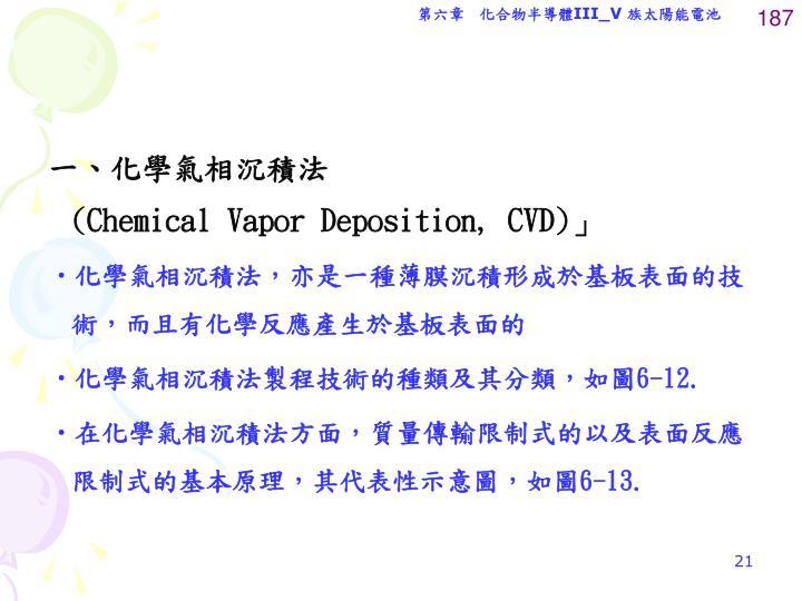 一、化學氣相沉積法