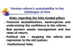 pension reform s sustainability to the challenges of time1