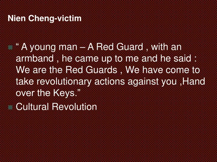 Nien Cheng-victim