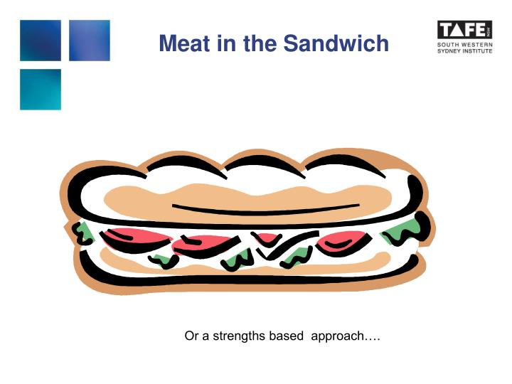 Meat in the Sandwich