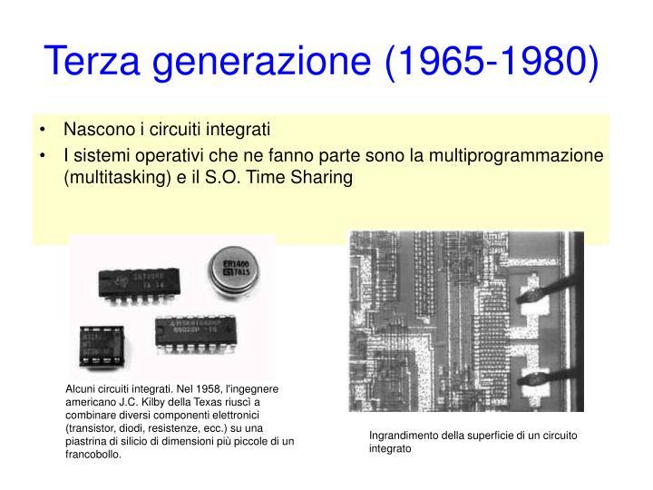 Terza generazione (1965-1980)