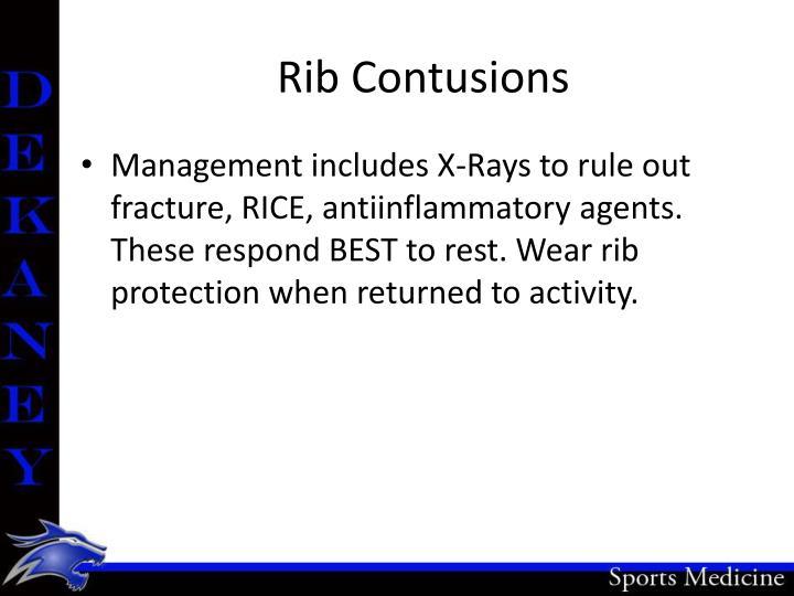 Rib Contusions