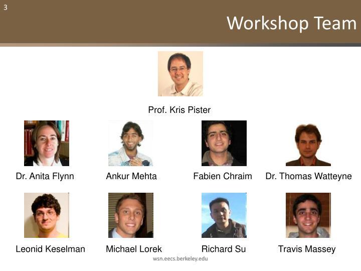 Workshop Team