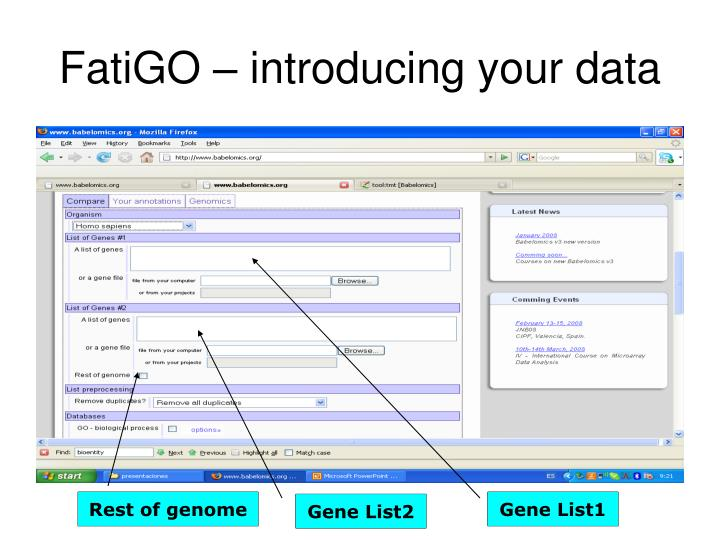 Gene List2