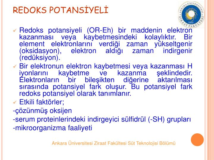 REDOKS POTANSYEL