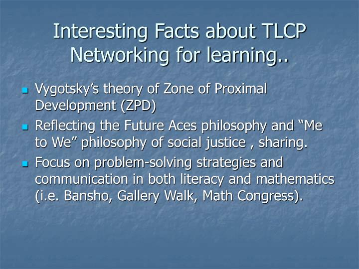 Interesting Facts about TLCP