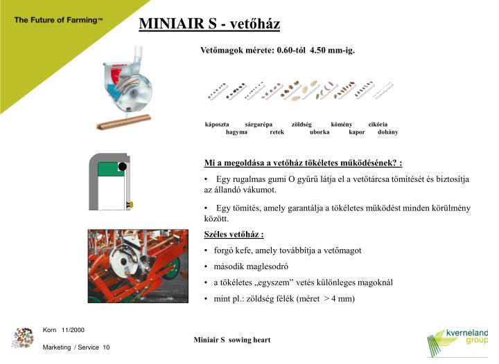 MINIAIR S -