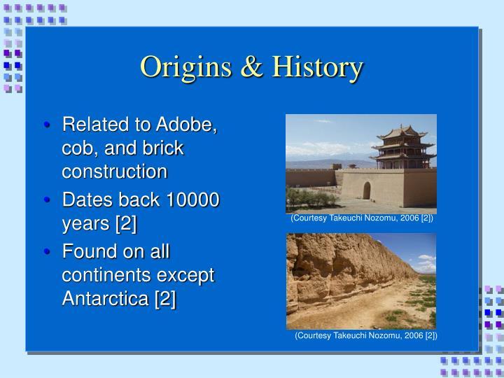 Origins & History