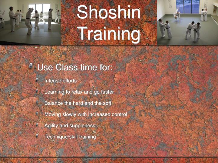 Shoshin Training
