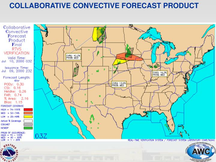 COLLABORATIVE CONVECTIVE FORECAST PRODUCT