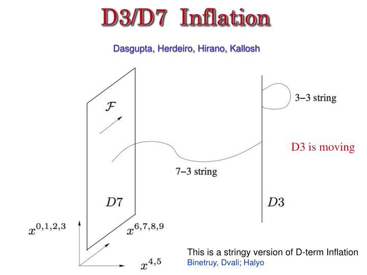 D3/D7  Inflation