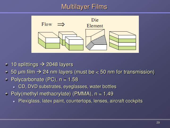 Multilayer Films