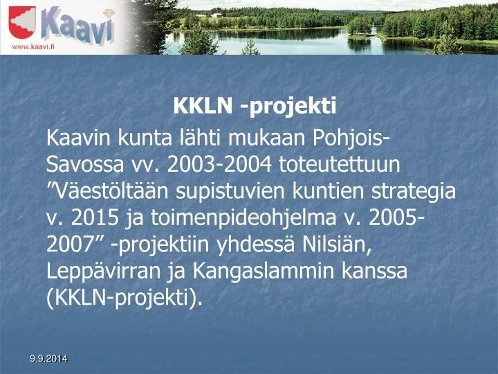 KKLN -projekti
