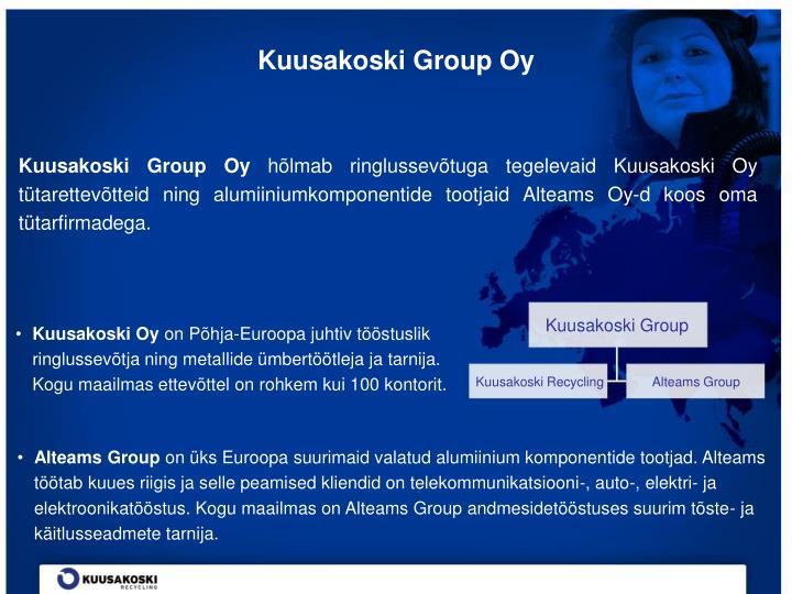 Kuusakoski Group Oy