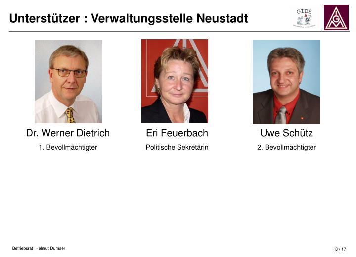 Dr. Werner Dietrich
