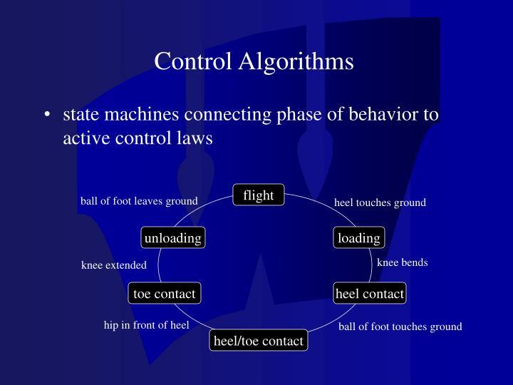 Control Algorithms
