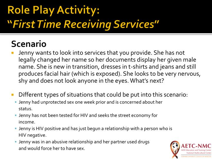 Role Play Activity: