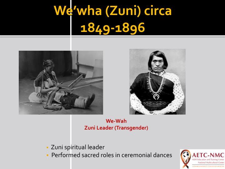 We'wha (Zuni) circa