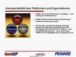interoperabilit t ber platformen und organisationen