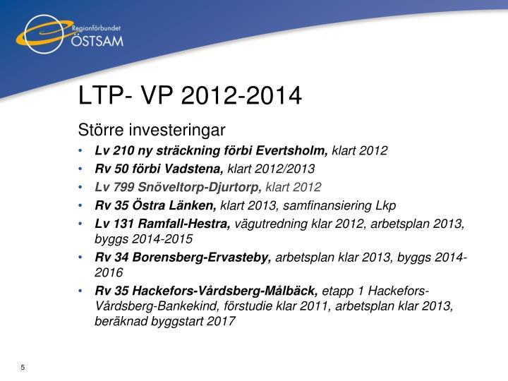 LTP- VP 2012-2014