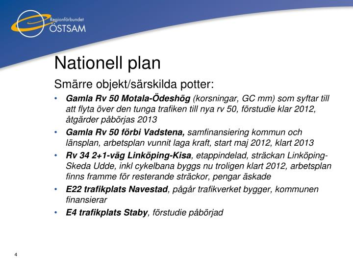 Nationell plan