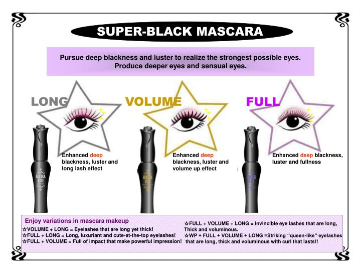 SUPER-BLACK MASCARA