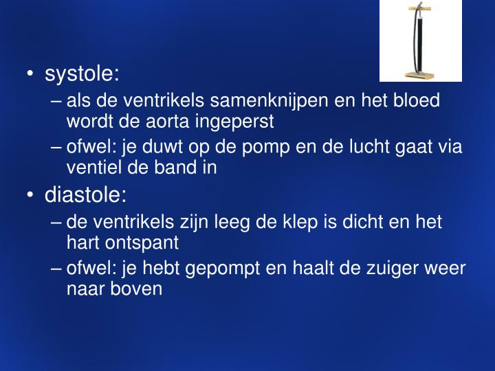 systole: