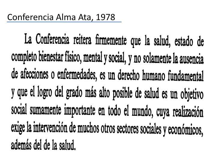 Conferencia Alma Ata, 1978