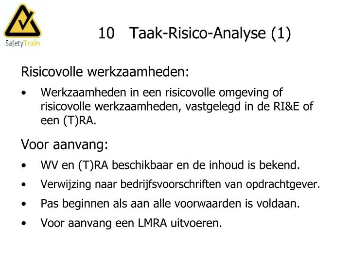 10   Taak-Risico-Analyse (1)