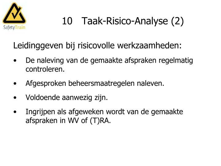 10   Taak-Risico-Analyse (2)