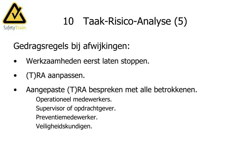10   Taak-Risico-Analyse (5)