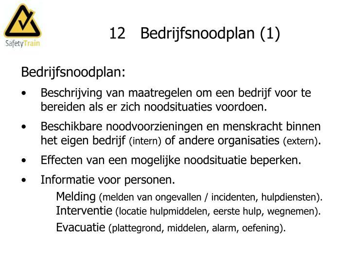 12   Bedrijfsnoodplan (1)
