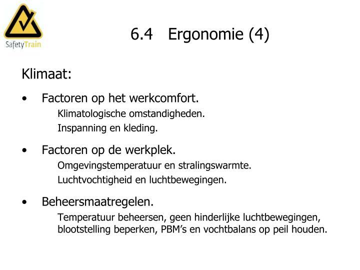 6.4   Ergonomie (4)