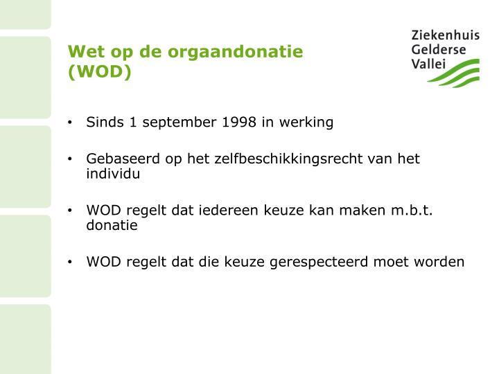 Wet op de orgaandonatie