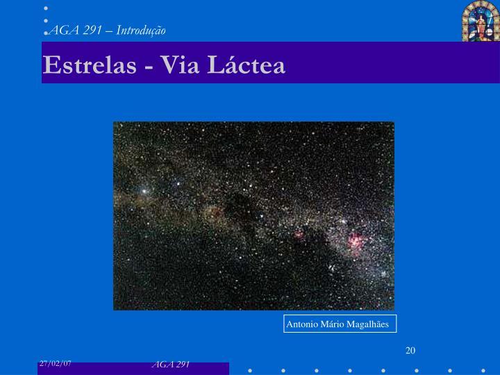 Estrelas - Via Láctea