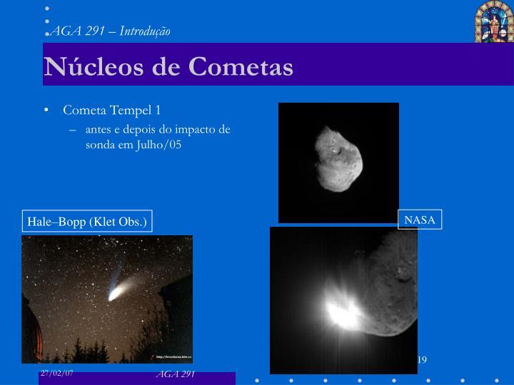 Núcleos de Cometas
