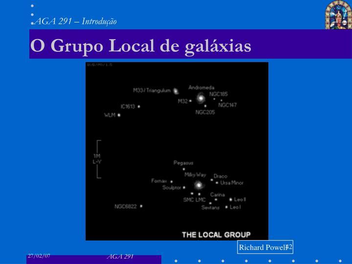 O Grupo Local de galáxias