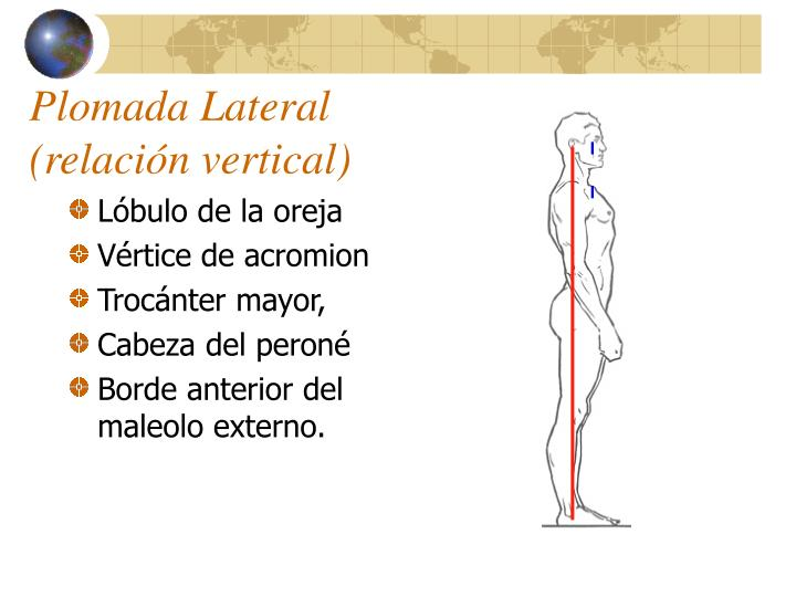 Plomada Lateral