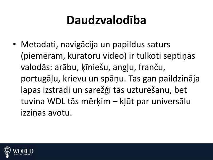 Daudzvalodība