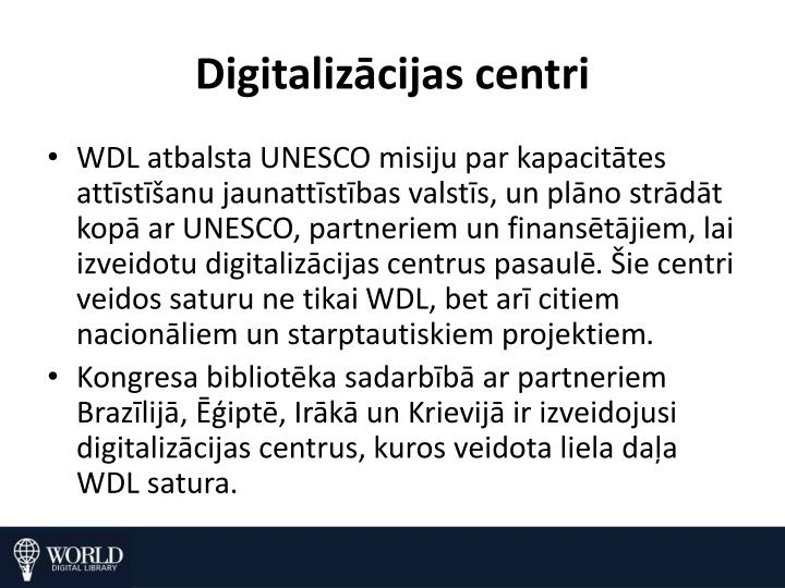 Digitalizācijas centri