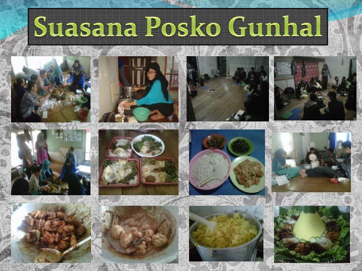 Suasana Posko Gunhal