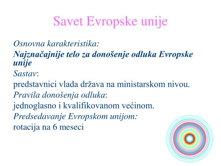 Savet Evropske unije