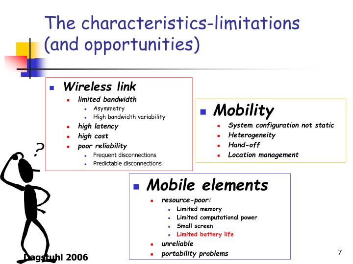 The characteristics-limitations