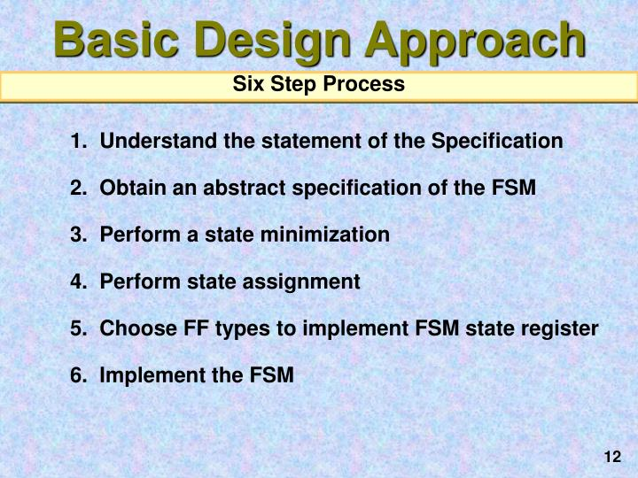 Basic Design Approach