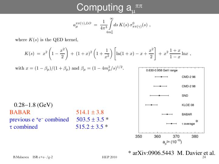 Computing a