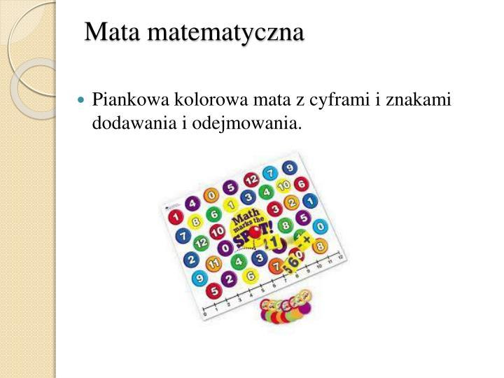 Mata matematyczna