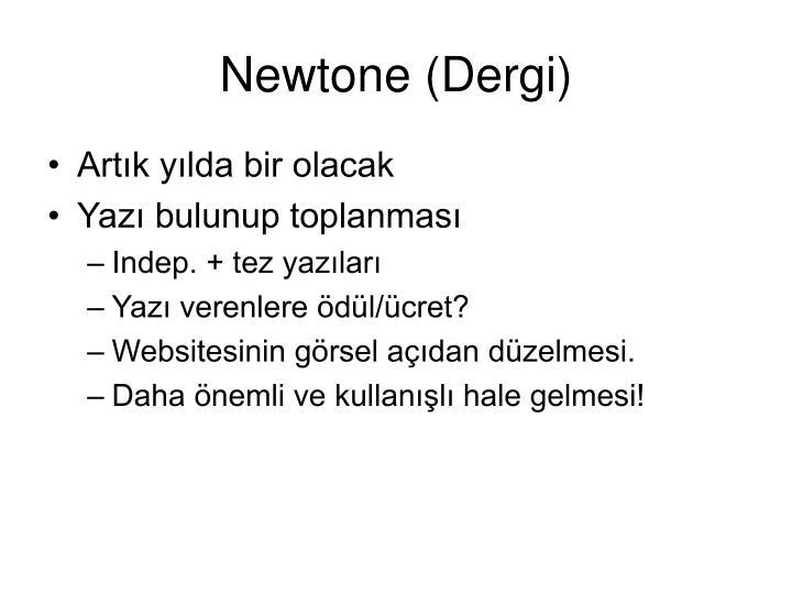 Newtone (Dergi)