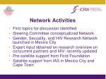 network activities